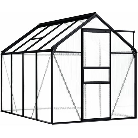 Greenhouse Anthracite Aluminium 4.75 m²