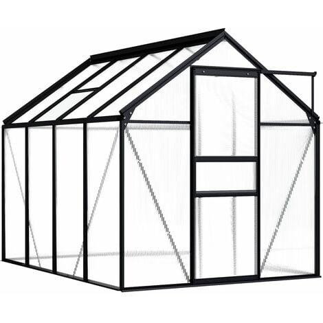 Greenhouse Anthracite Aluminium 4.75 m - Anthracite