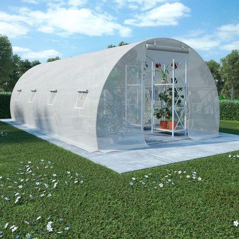 Greenhouse with Steel Foundation 18m2 600x300x200 cm
