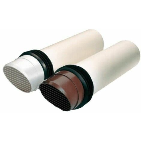 Greenwood Airvac 100mm Fast Fix Duct System Brown