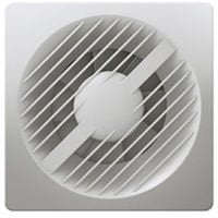 "Greenwood AXS100PC 4"" Extractor Fan with Pull Cord"