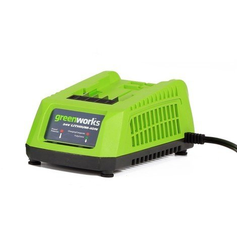 Greenworks 24V 45min charger BS plg