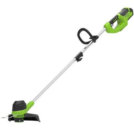 Greenworks 40V 33cm Front Mount Line Trimmer with Optional Kit
