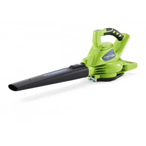 GREENWORKS 40V Brushless Blower-Shredder GREENWORKS 40V - Without battery or charger - GD40BV