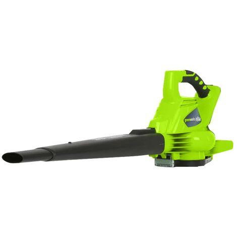 GREENWORKS 40V Brushless Blower-Shredder GREENWORKS 40V - Without battery or charger - GD40BV