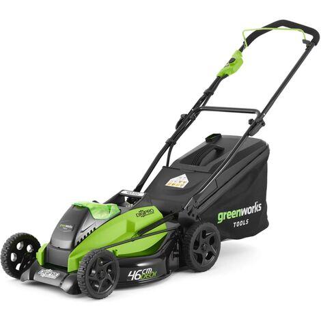 Greenworks Cortacésped con batería de 40 V 4 Ah GD40LM45 2500407UB