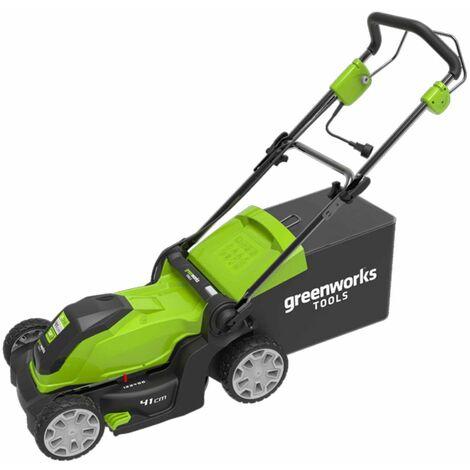Greenworks Cortacésped eléctrico GLM1241 230 V 41 cm 2505207