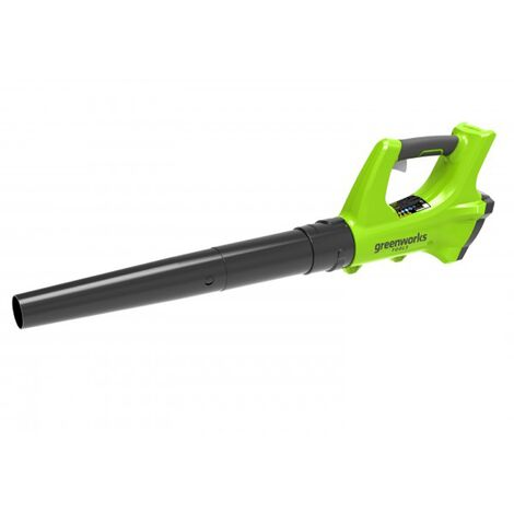 Greenworks G24AB Cordless 24v Garden Axial Leaf Blower 99mph Bare Unit