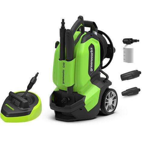 Greenworks G40 Electric 1900w Pressure Washer 135Bar 240v