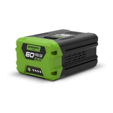 Greenworks G60B2 - Batterie Li-Ion 60V - 2.0Ah