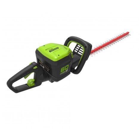 Greenworks GD60HTCordless 60v Hedge Trimmer 54cm/21in Bare Unit