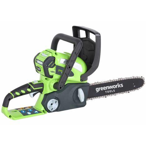 Greenworks Motosierra 40 V batería no incluida G40CS30 30 cm 20117