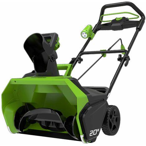 Greenworks Quitanuieves sin escobillas sin batería 40V GD40ST 2600007