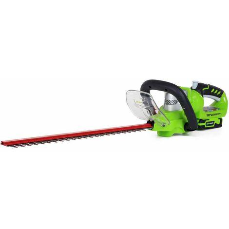 Greenworks Taille-haie sans batterie 24 V Deluxe G24HT57 2200107