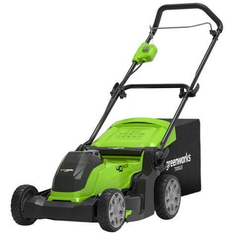 Tondeuse GREENWORKS 40V - Coupe de 41cm - Sans batterie ni chargeur - G40LM41