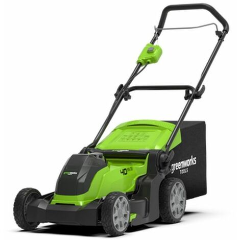 Greenworks Tondeuse à gazon sans batterie 40 V G40LM41 41 cm 2504707