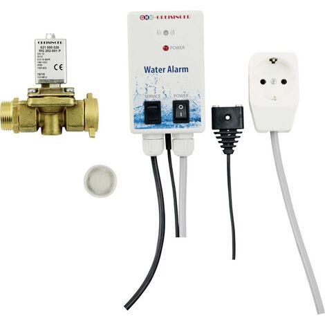 Greisinger 603935 Wassermelder mit Magnet-Absperrventil, mit externem Sensor netzbetrieben X717151