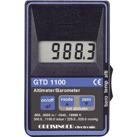 Greisinger Druck-Messgerät GTD 1100 Luftdruck 0.3 - 1.1 bar mit Höhenmesser Q77303