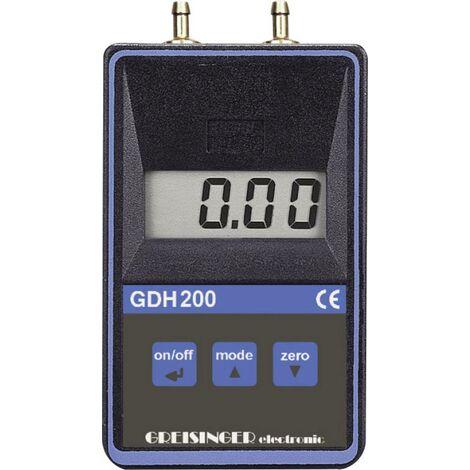 Greisinger GDH 200-07 Druck-Messgerät Luftdruck 0 - 0.1999 bar Q59334