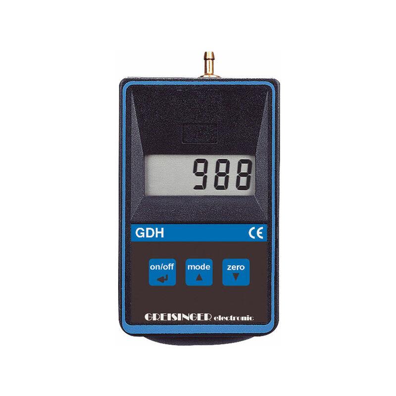 Image of Greisinger GDH 200-14 Digital Vacuum Barometer and Manometer