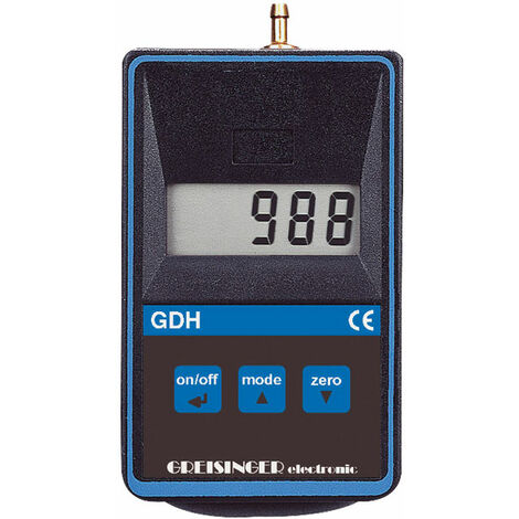 Greisinger GDH 200-14 Digital Vacuum Barometer and Manometer