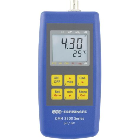 Greisinger GMH 3511 Kombi-Messgerät pH-Wert, Redox (ORP), Temperatur S059831