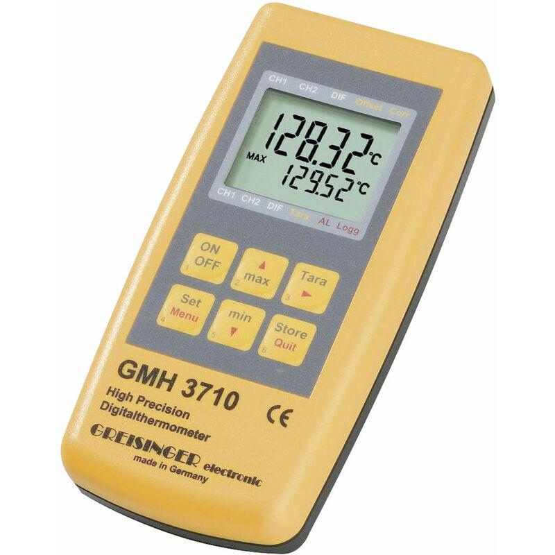 Image of Greisinger GMH 3710 PT100 Digital Thermometer -199.99 to +850 Deg