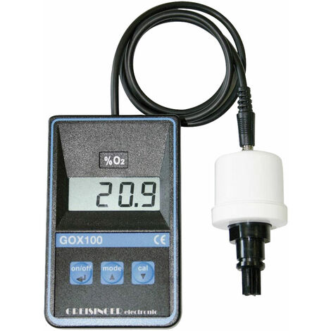 Greisinger GOX 100 T Oxygen Meter with Sensor