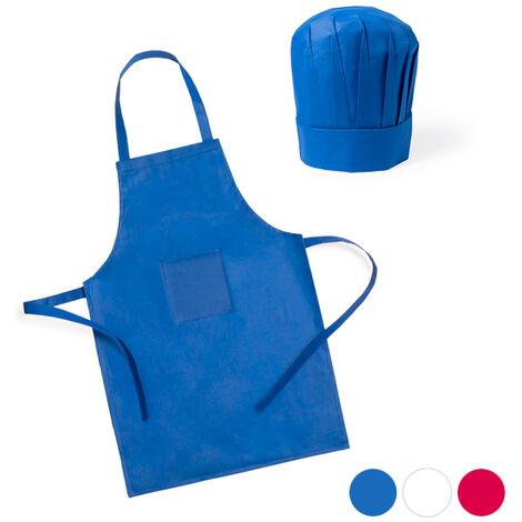 Grembiuli Da Cuoco Per Bambini.Grembiule E Cappello Da Cucina Per Bambini 2 Pcs 144754