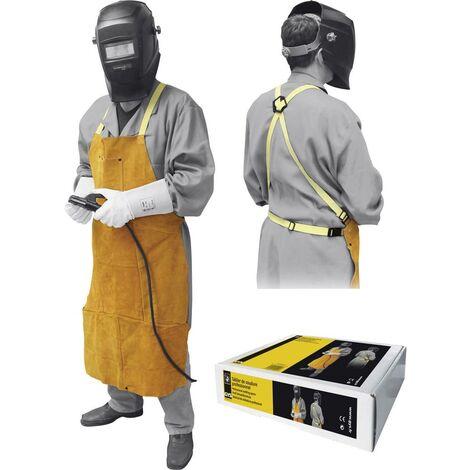 Grembiule professionale da saldatore Toparc 045217 Materiale Pelle