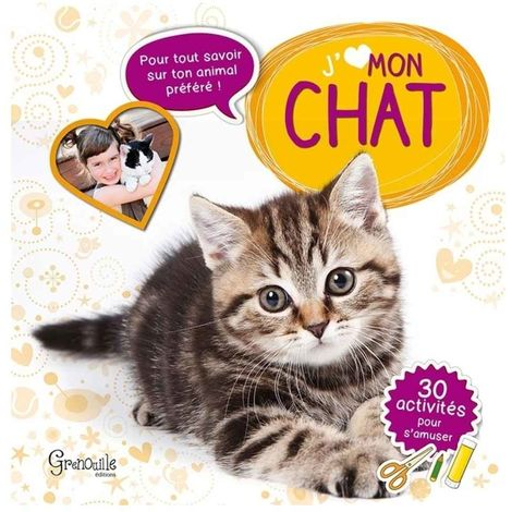 Grenouille Editions - J'aime mon Chat