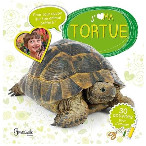Grenouille Editions - J'aime mon Tortue