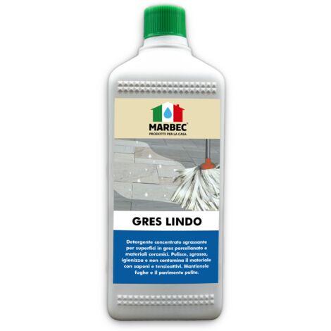 GRES LINDO   Detergente igienizzante per pavimenti in gres porcellanato