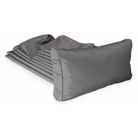 Grey cushion cover set for Milano