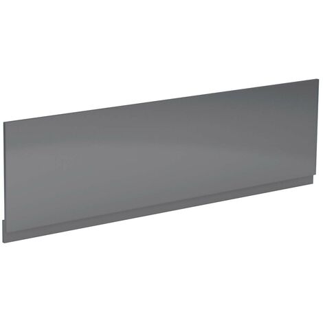 Grey Gloss 1800mm Bath Front Panel