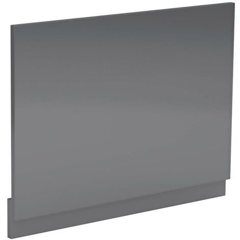Grey Gloss 700mm Bath End Panel