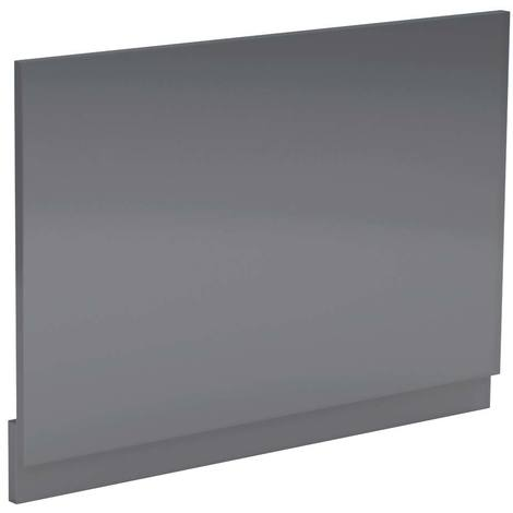 Grey Gloss 750mm Bath End Panel