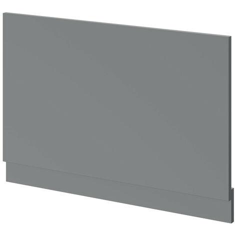 Grey Gloss 800mm Bath End Panel
