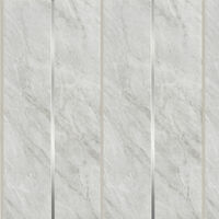 Grey Marble Silver Strip Wall & Ceiling Panels 200x2700x6mm 5 Pack