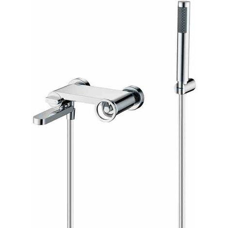Griferia baño/ducha cromada Serie Olimpo