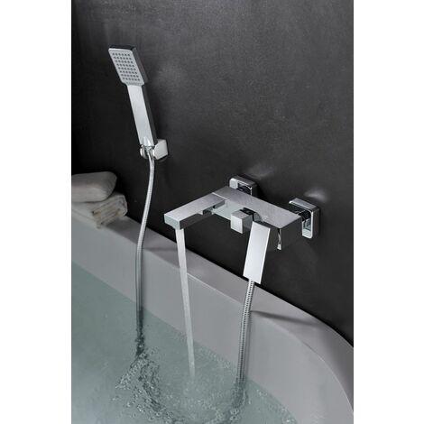 Grifería de bañera / ducha monomando cromado Serie Valencia - IMEX