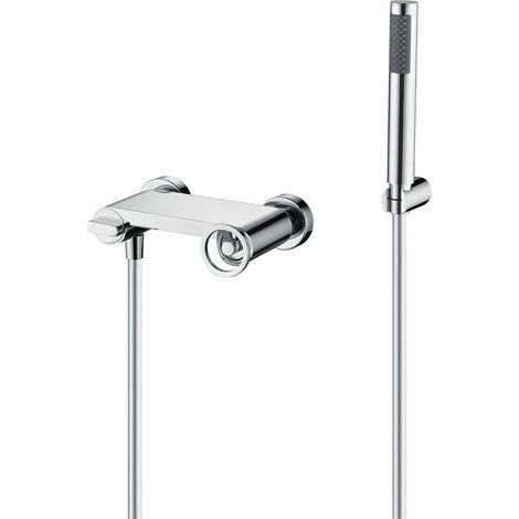 Griferia de ducha laton cromado serie Olimpo