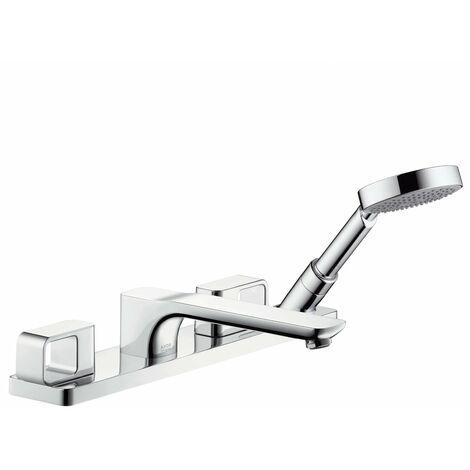 Grifería para bañera de 4 agujeros Hansgrohe Axor Urquiola, proyección 198mm - 11443000