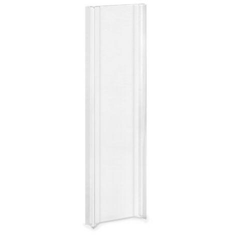 Griff für Glastüren und Glasschiebetüren, selbstklebend, 2 Stk., transparent