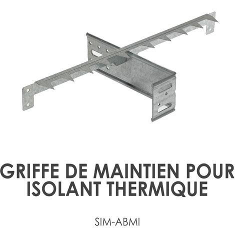 Griffe de maintien ABMI pour isolant thermique