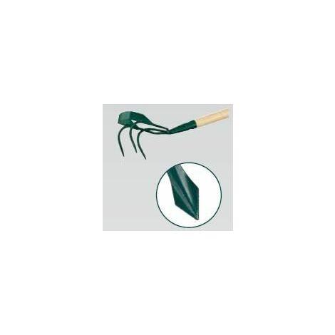 Griffe piocheuse - 3 dents spatulées + grattoir