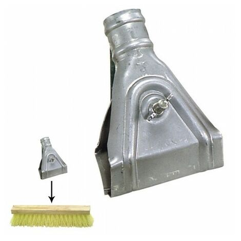 Griffe pour brosse balayeuse
