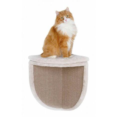 Griffoir d'angle pour chat 35 x 35 x 50 cm