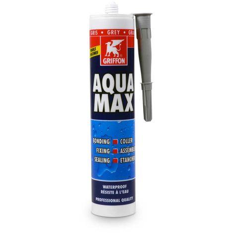 Griffon AQUA MAX Konstruktions- u. Dichtklebstoff, grau