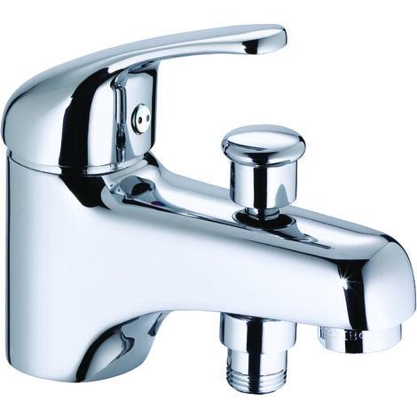 Grifo bañera 1 orificio cromado TILT BY EUROSANIT